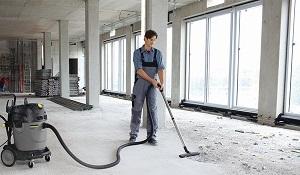Limpieza de nueva obra en Madrid